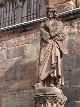 Maître Erwin, par Philippe Grass. Wikipedia